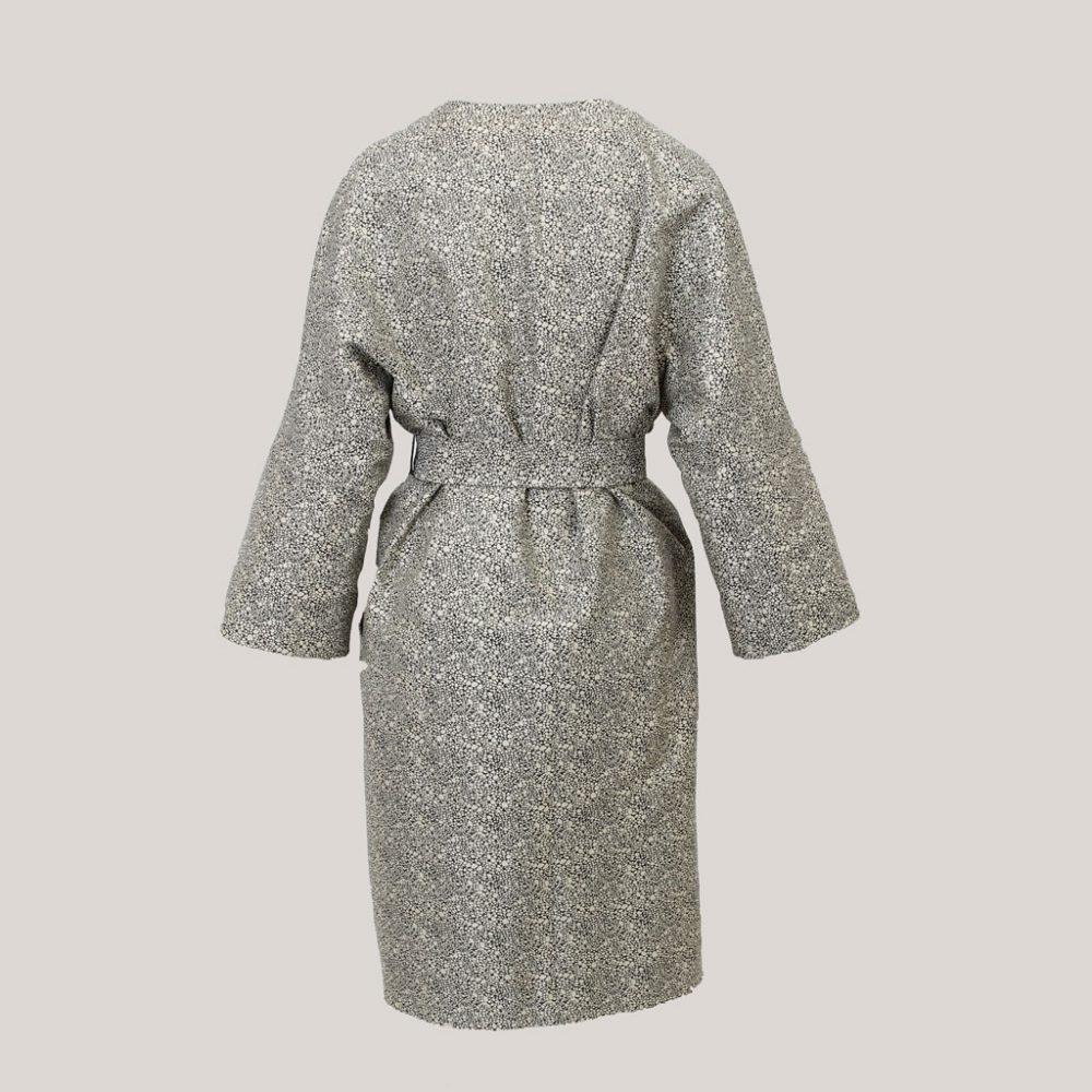 Regendruppel - Kimono dames - Achteraanzicht