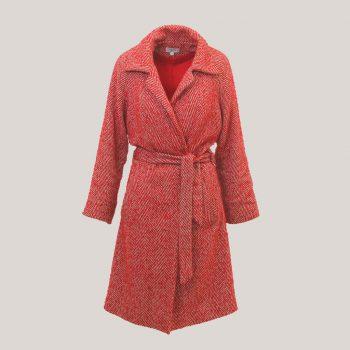 Roadcoat, lange rode jas