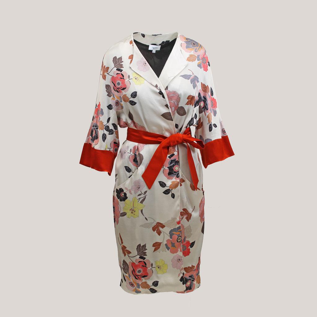Gebloemde kimono 'Sophie's Choice'